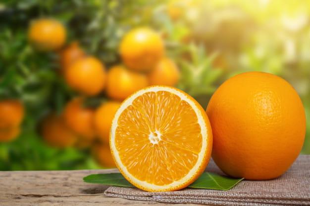 orange Non-Dairy Food
