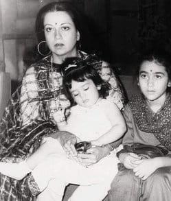 Karishma Kapoor childhood pics