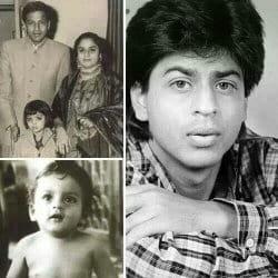 Shah Rukh Khan Childhood pics