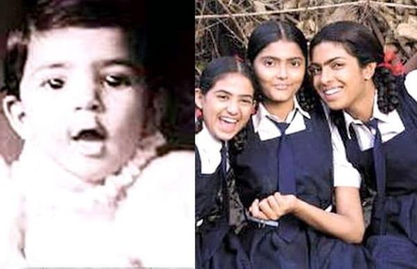 priyanka chopra childhood pics