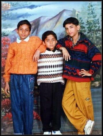 sushant singh rajput childhood pics