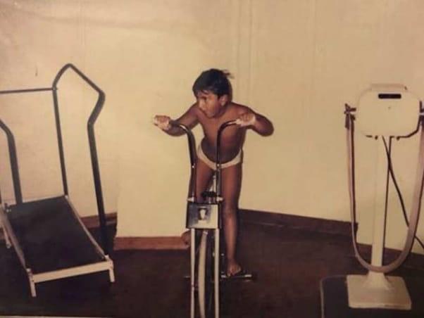 Ranveer Singh childhood