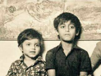 Salman Khan Childhood pics