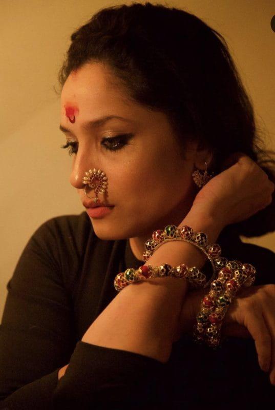 ankita lokhande as Sanskari Bahu