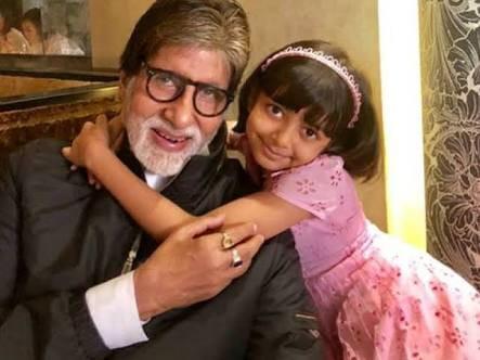 Amitabh Bachchan Granddaughter  Aaradhya Bachchan