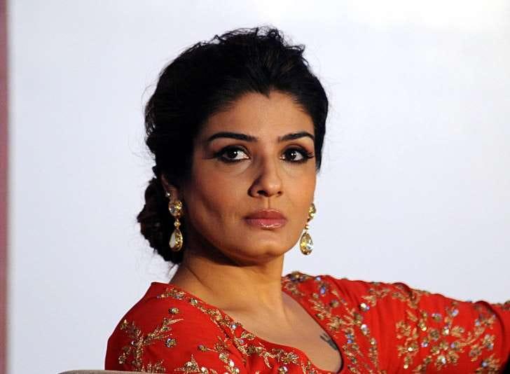 Actress Raveena Tandon