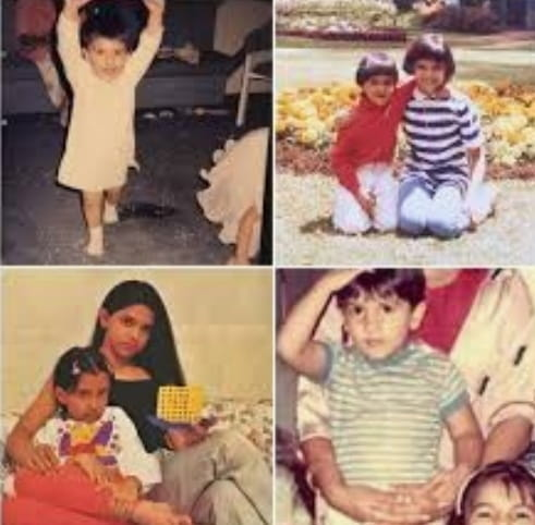 Ranveer Singh childhood pic