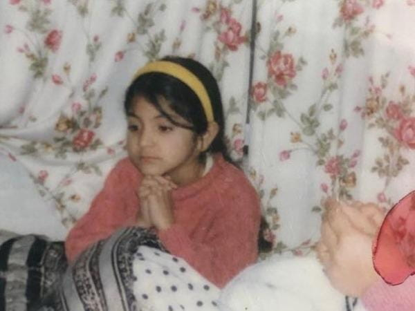 Anushka Sharma Childhood pics