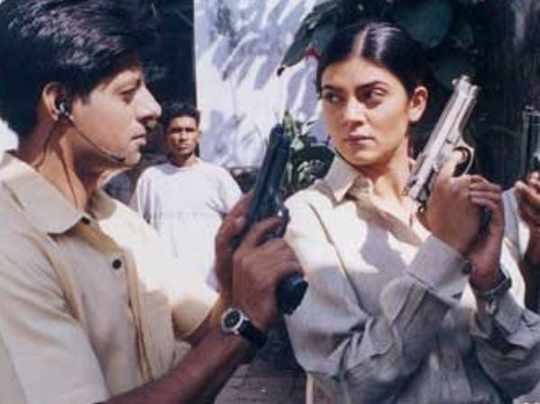 sushmita sen from film samay as police officer
