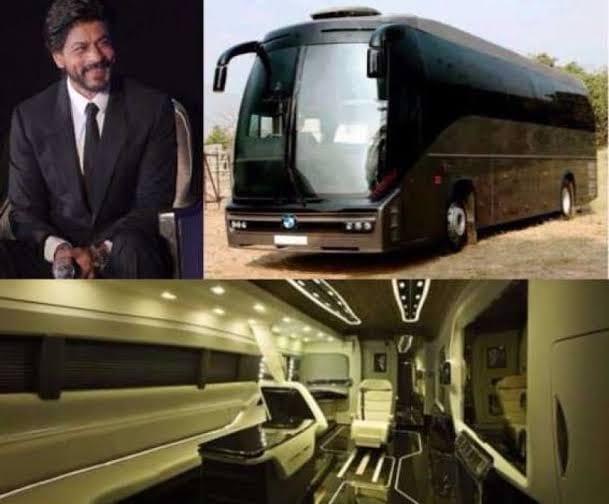 Shahrukh Khan vanity van