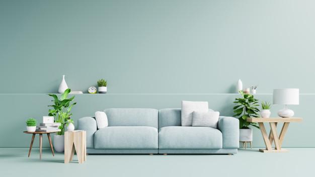 Indoor Plants In  Interior Decoration