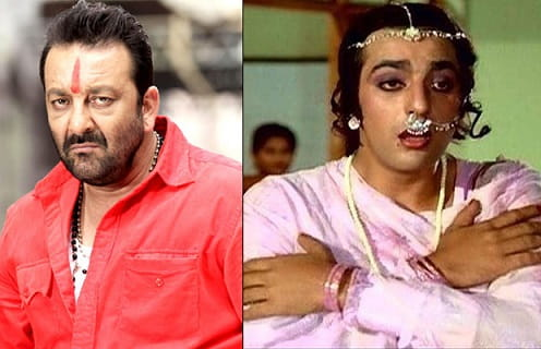 Sanjay Dutt in female role