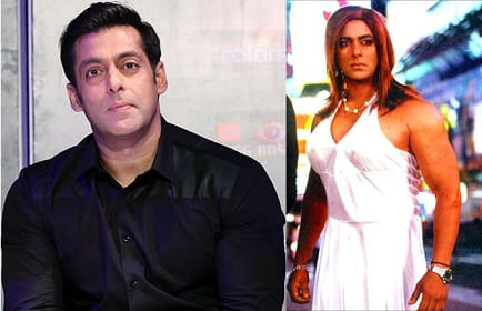 Salman Khan in female role