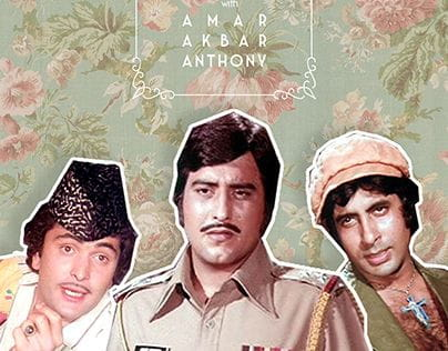 Rishi Kapoor from movie Amar Akbar Anthony