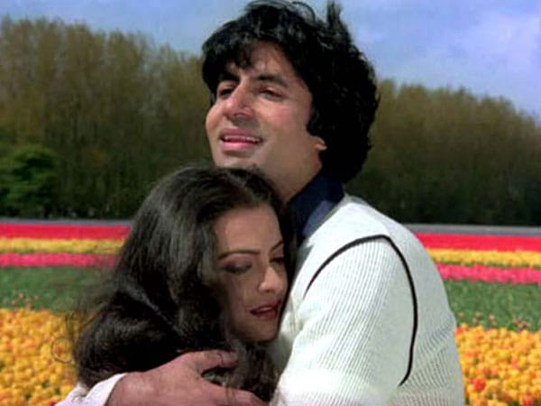Amitabh-Rekha in love