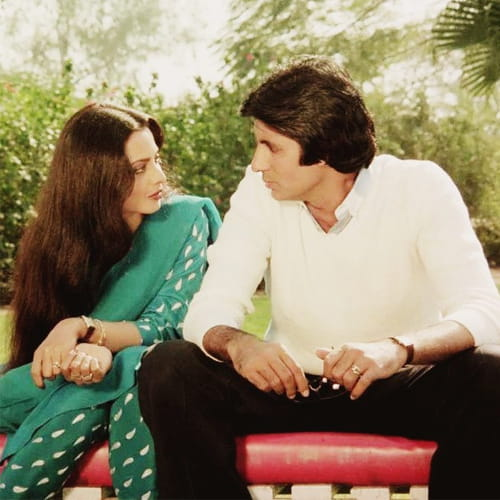 Amitabh-Rekha couple pic