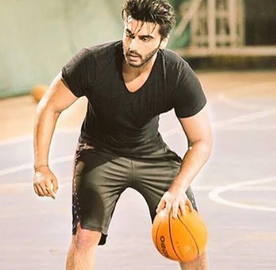 Arjun Kapoor Playing Basketball