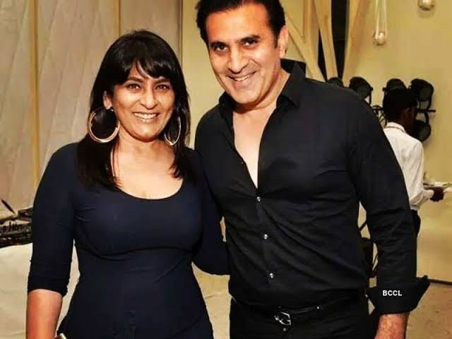 archana puran singh with husband parmeet