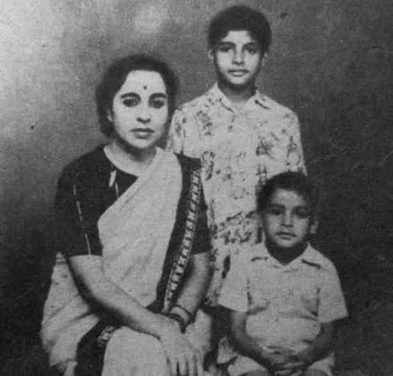 Amitabh Bachchan childhood images
