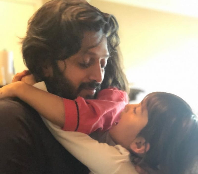 Riteish Deshmukh And his  sons