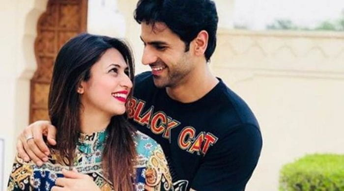 Divyanka Tripathi with her husband