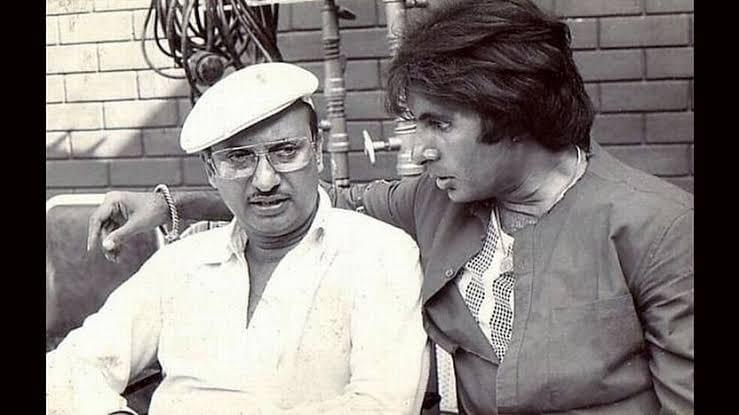 Manmohan Desai and Amitabh Bachchan from movie sarfarosh