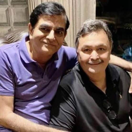 Rishi Kapoor and His Friend Raj Bansal