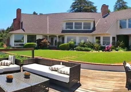 Sunny Leone house in  Los Angeles