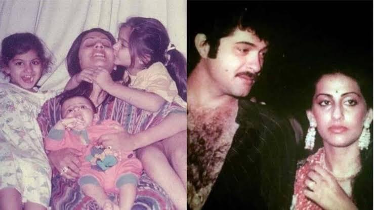 Anil And Sunita Kapoor old pics