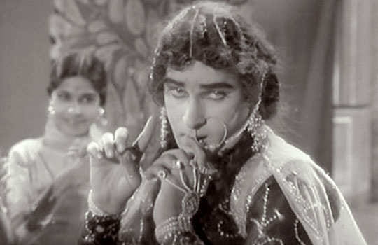 Shammi kapoor in female role