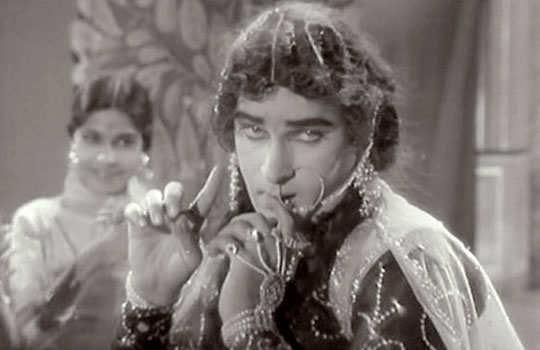 Shammi kapoor in female role