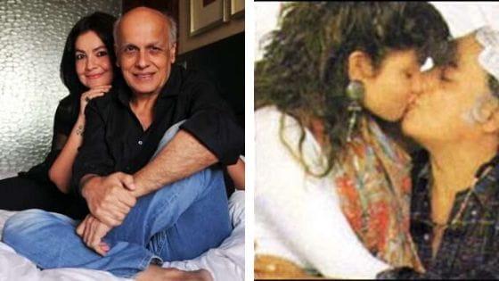 Mahesh Bhatt kissing His Own Daughter Pooja Bhatt
