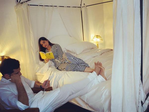 Sonam Kapoor With Husband Anand Ahuja