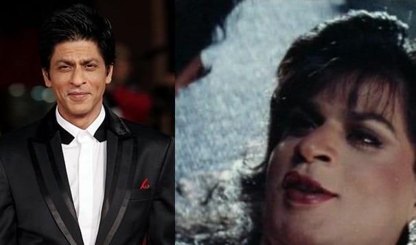 Shahrukh Khan in female role