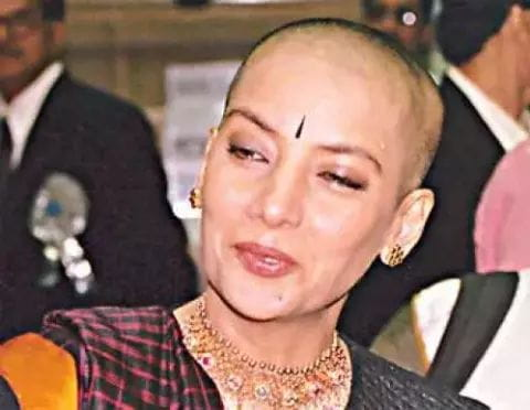 shabana azmi bald look
