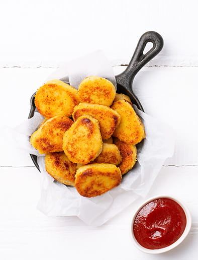 Potato-Cheese Nuggets