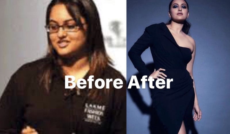 Sonakshi Sinha fit to fat