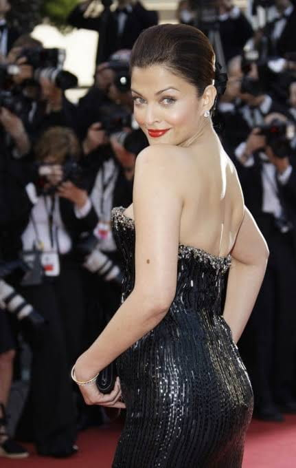 Aishwarya rai Bachchan in backless dress