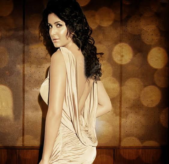 Katrina kaif in backless dress