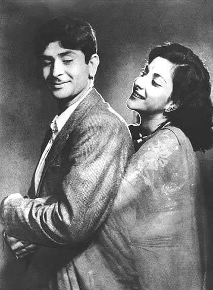 Dimple Kapadia Nargis And Raj Kapoor