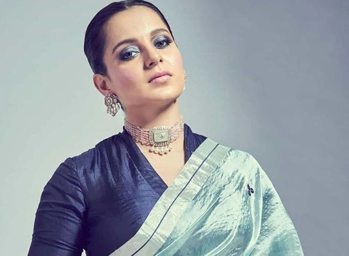 Kangana Ranaut in saree