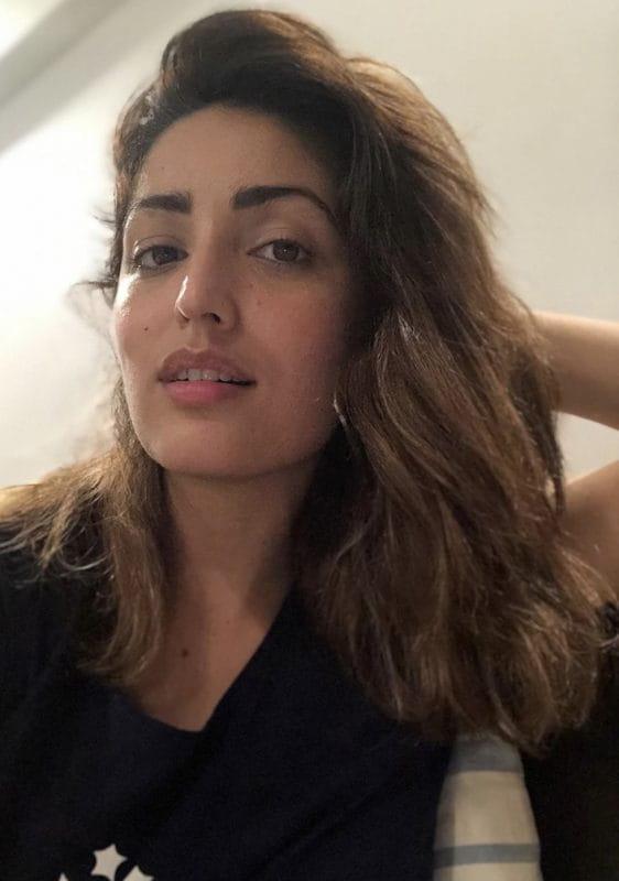 Yami Gautam selfie