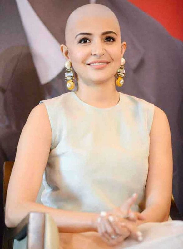 Anushka Sharma bald look
