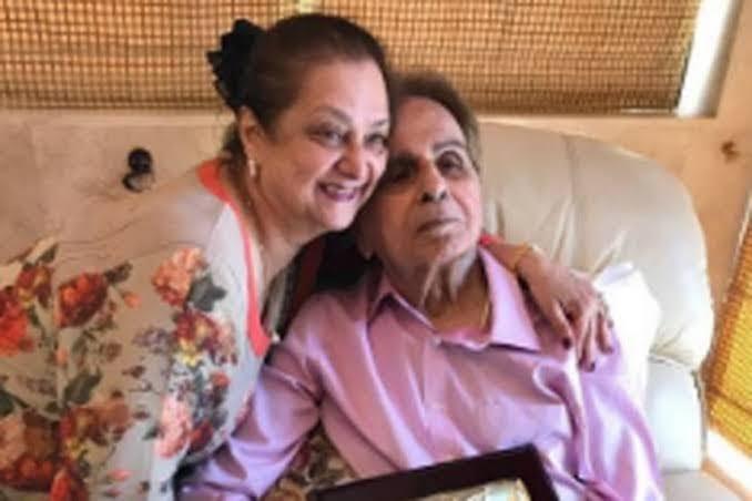 Dilip Kumar Saira Banu