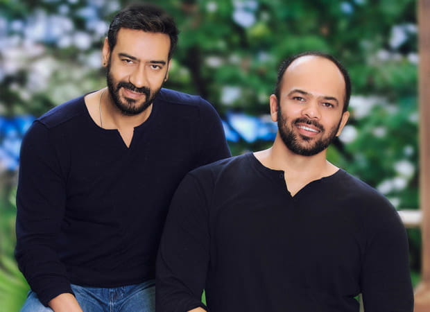 Rohit Shetty and Ajay Devgan