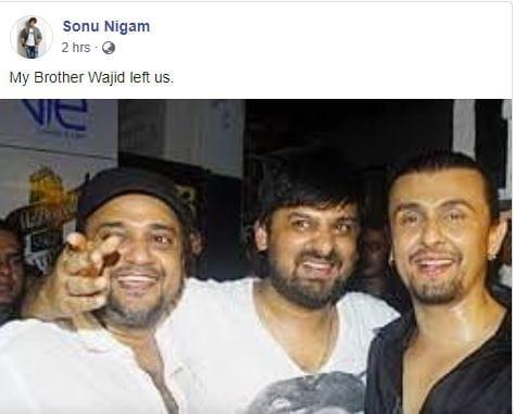 Sajid Wajid sonu Nigam