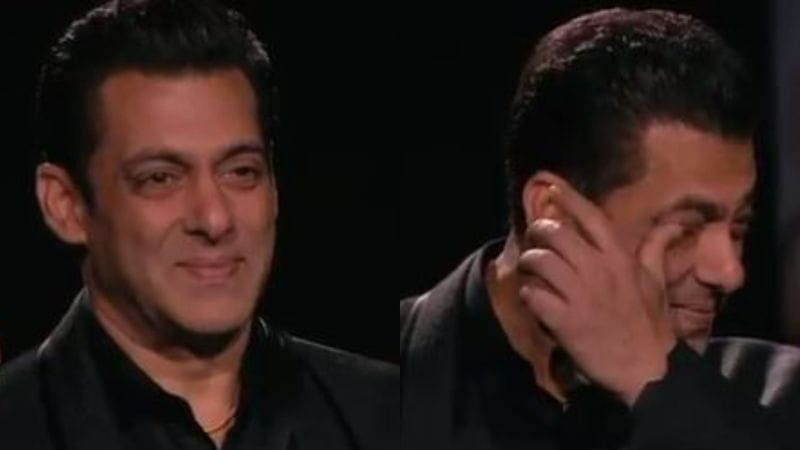 Salman Khan got emotional