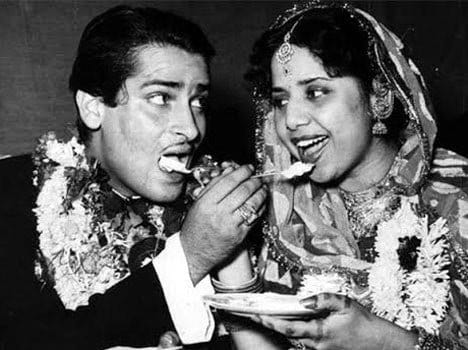 Shammi Kapoor And Geeta Bali marriage pics