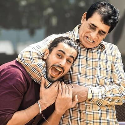 Sunny Singh and His Father