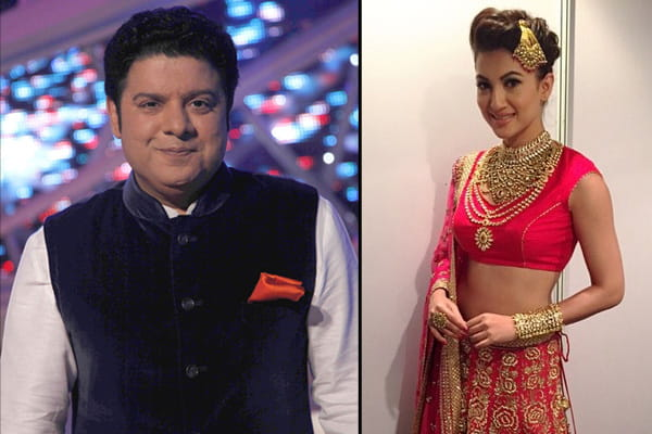 Sajid Khan and Gauhar Khan